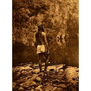 The Apache BIG Edward S.Curtis Native American Art Photograph