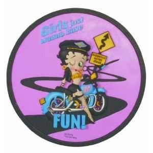 Betty Boop Biker Step. Stone   Stepping Stone Home & Kitchen