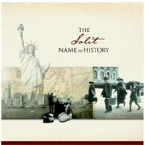 The Solit Name in History Ancestry Books