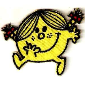 Little Miss Sunshine in Mr. Men & Friends Embroidered Iron On / Sew On