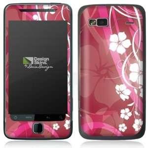 Design Skins for HTC Desire Z   Pink Flower Design Folie Electronics