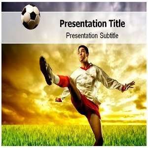 Football Champion Powerpoint Template   Football Champion