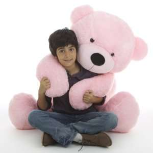 Teddy Bear , Extremely Cute & Cuddly, Pink Plush Bear by Giant Teddy