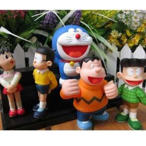 Lujex Doraemon and Nobita Nobi Action Figure Toy Figurine Doraemon