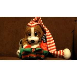 Sad Sam Christmas Plush Dog with Stocking Toys & Games