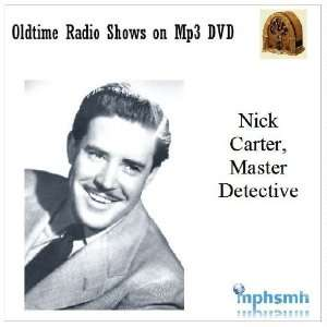 NICK CARTER, MASTER DETECTIVE Old Time Radio (OTR) series