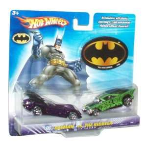 Hot Wheels Year 2006 DC Comics 164 Scale 2 Pack Die Cast Car   Batman