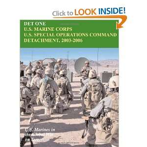 DET ONE: U.S. Marine Corps U.S. Special Operations