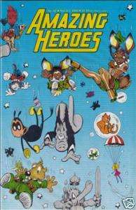 Amazing Heroes #42 Dave Sims Cerebus/Star Wars Etc