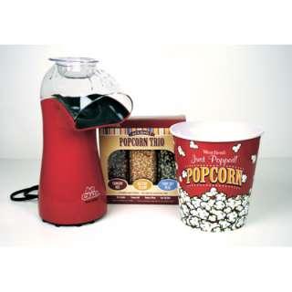 West Bend Air Crazy Popcorn Maker with Medium Popcorn Bucket and
