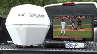 Dish Network tailgater Automatic Portable Satellite Receiver with ViP