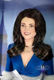 The Franklin Mint Kate Middleton Engagement Vinyl Doll
