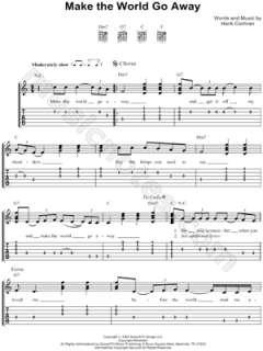 Image of Eddy Arnold   Make the World Go Away Guitar Tab (Digital