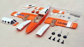 CESSNA 421 Twin Engine Sky Trainer 6 Channel Electric RC Airplane Kit