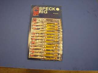SPECKLE TROUT RIGS FISHING LURES TERMINAL TACKLE