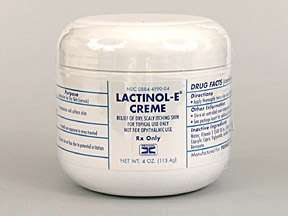 Picture LACTINOL E CREME 113.4GM  Drug Information  Pharmacy