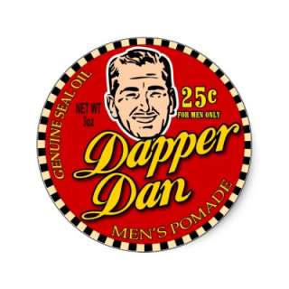 Dapper Dan $8.95 Movie Art Stickers (20 pack) by curious_inkling