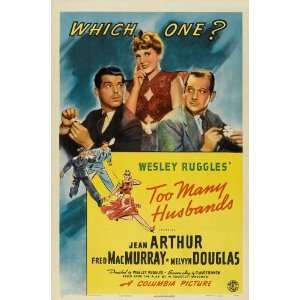 Too Many Husbands (1940) 27 x 40 Movie Poster Style B: Home & Kitchen