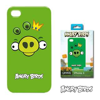 ICAB403 Angry Birds Case, King Pig (Green) Apple® iPhone™ 4