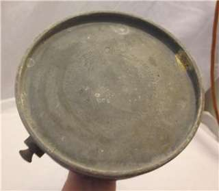 Antique Coleman Quick Lite Gas Kerosene Oil Table Light Lantern Lamp