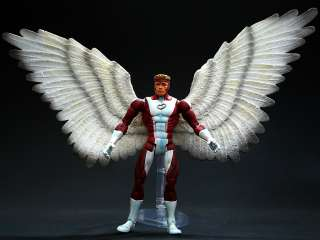 2005 TOY BIZ MARVEL LEGENDS SERIES 10 ANGEL RED MOC