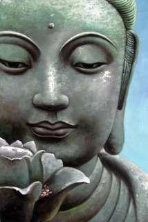 Feng Shui Wealth Buddha Painting