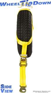 AUTO WHEEL TIRE CAR RATCHET NET BASKET STRAP SNAP HOOK