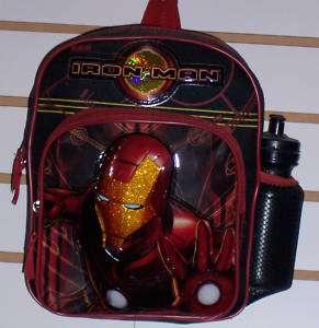 Boys IRON MAN Ironman Small Mini BACKPACK School Bag