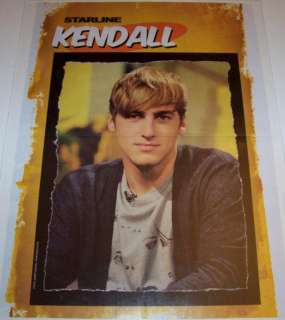 KENDALL SCHMIDT   BIG TIME RUSH   JAMES MASLOW   POSTER