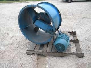 34 Diameter Tube Axial Fan