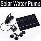 Solar Pond Water Pump Garden Fountain Kit Brushless new