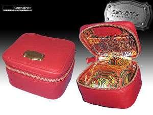 SAMSONITE BLACK LABEL Resort Leather Travel WATCH BOX