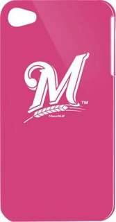 MILWAUKEE BREWERS PINK IPHONE 4 & 4S FACEPLATE COVER CASE