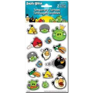 (6x6) Angry Birds Temporary Tattoos: Home & Kitchen