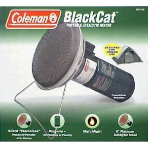 Coleman BlackCat Portable Catalytic Heater Everything