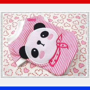 Small Dog Clothes KungFu Panda Costume Pet Shirts,856