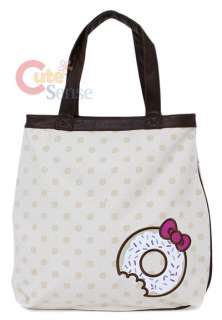 Sanrio Hello Kitty Tote Bag Donuts Loungefly 3