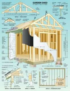 DIY Shed, Log Cabin, Summer House, Play House Barn Garage, Woodwork