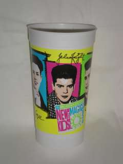 McDonalds New Kids on the Block Plastic Drinking Cup
