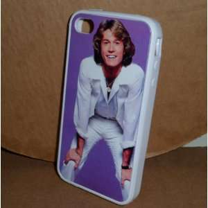 ANDY GIBB Bee Gees iPHONE 4 4S RUBBER PROTECTIVE CASE