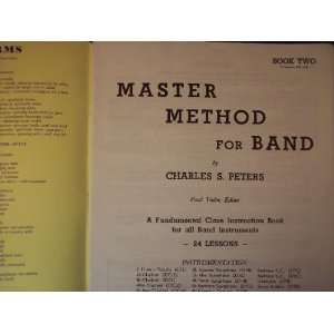 Master Method for Band Trombone, Book Two Charles S. Peters Books