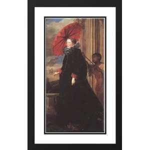 Framed and Double Matted Marchesa Elena Grimaldi: Sports & Outdoors