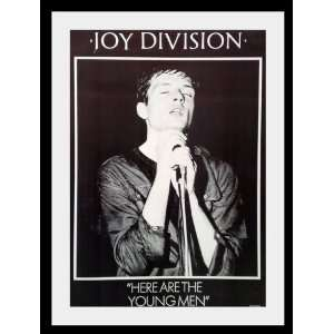 Joy Division Ian Curtis tour poster approx 34 x 24 inch