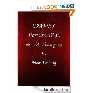 holy bible DARBY Version 1890 (Old Testing Vs. New Testing) Darby