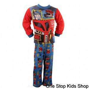 OPTIMUS PRIME Transformers 8 10 PAJAMAS Pjs Set Shirt