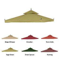 Arrow Gazebo Replacement Canopy   Sage