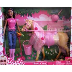 Barbie & Tawny Doll & Horse Playset AA (2009) Toys & Games