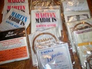 Lot 15 Set Martin Acoustic Guitar Strings