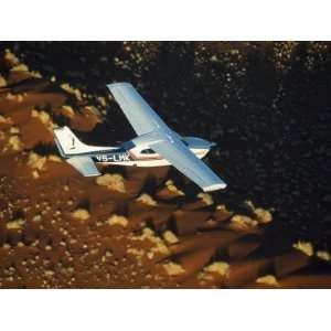 Safari Flights over Red Sand Dunes of Sossusvlei, Namib