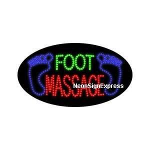 Animated Foot Massage LED Sign: Everything Else